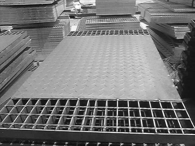 Compund Steel Grating