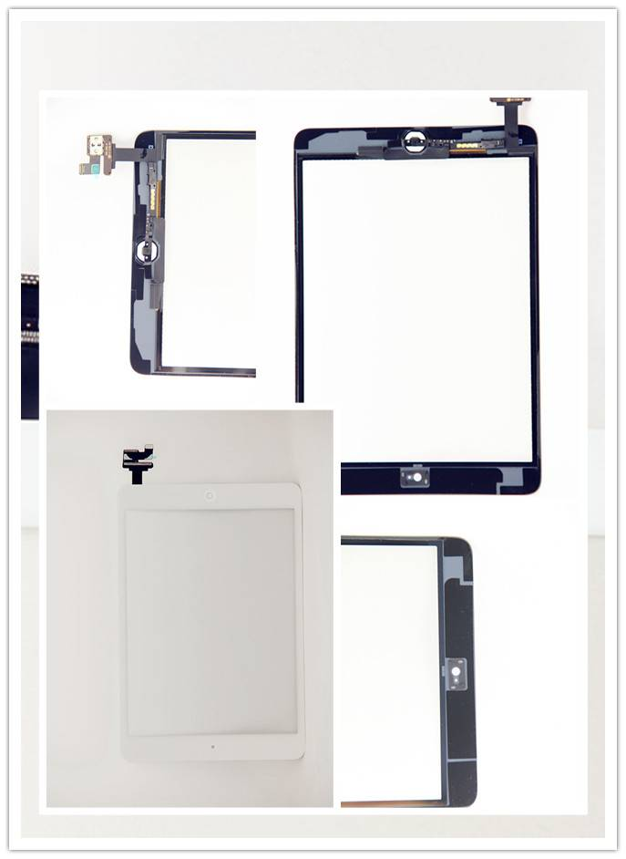For Apple ipad Mini 1 Touch Half Assembly White/Black