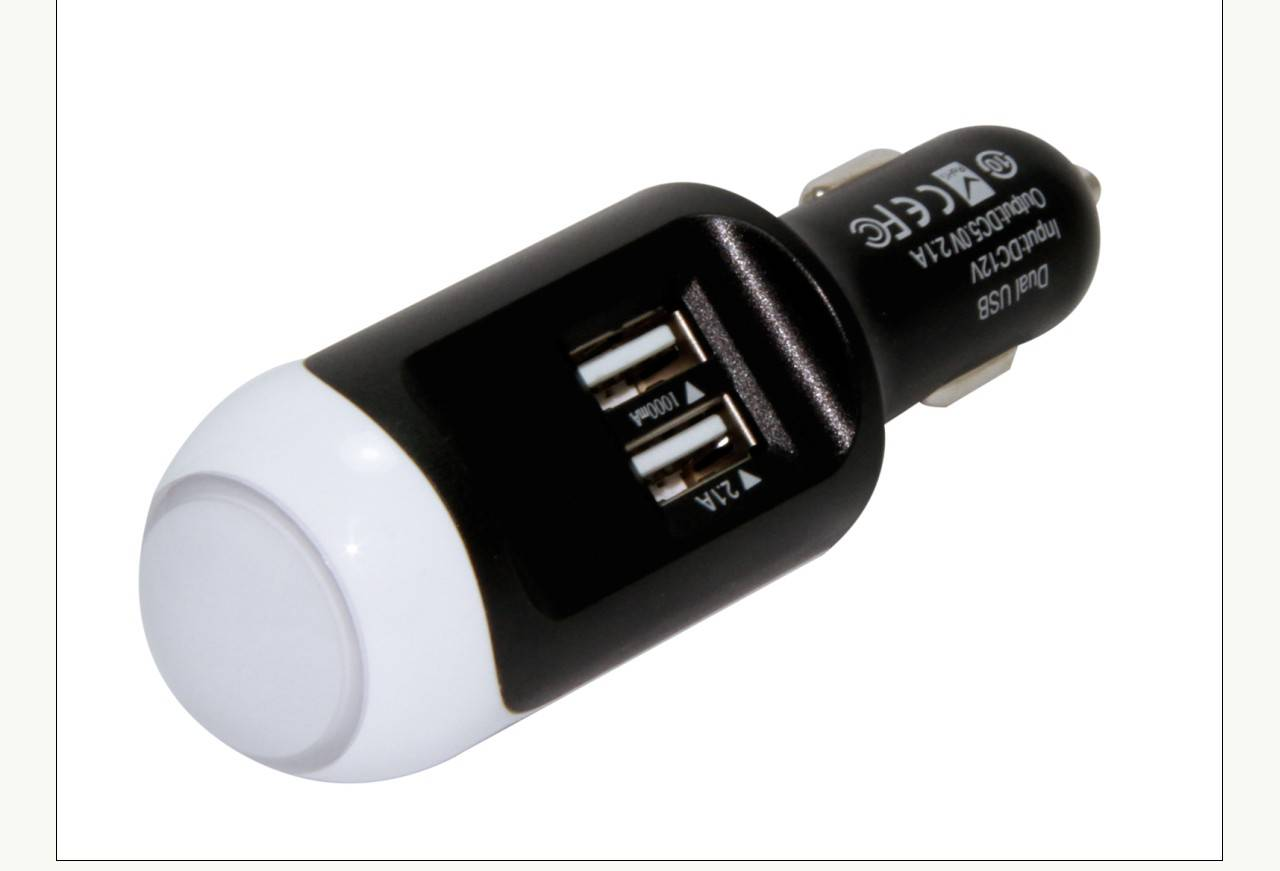 2014 LONGRICH popular car charger for parents' gifts