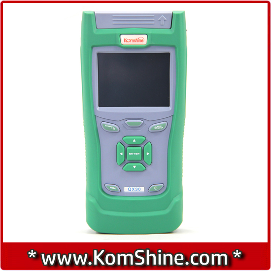 KomShine Handheld OTDR QX40(1310/1550nm,32/30dB,VFL) Equal to JDSU MTS-2000 Fiber Optic OTDR Tester