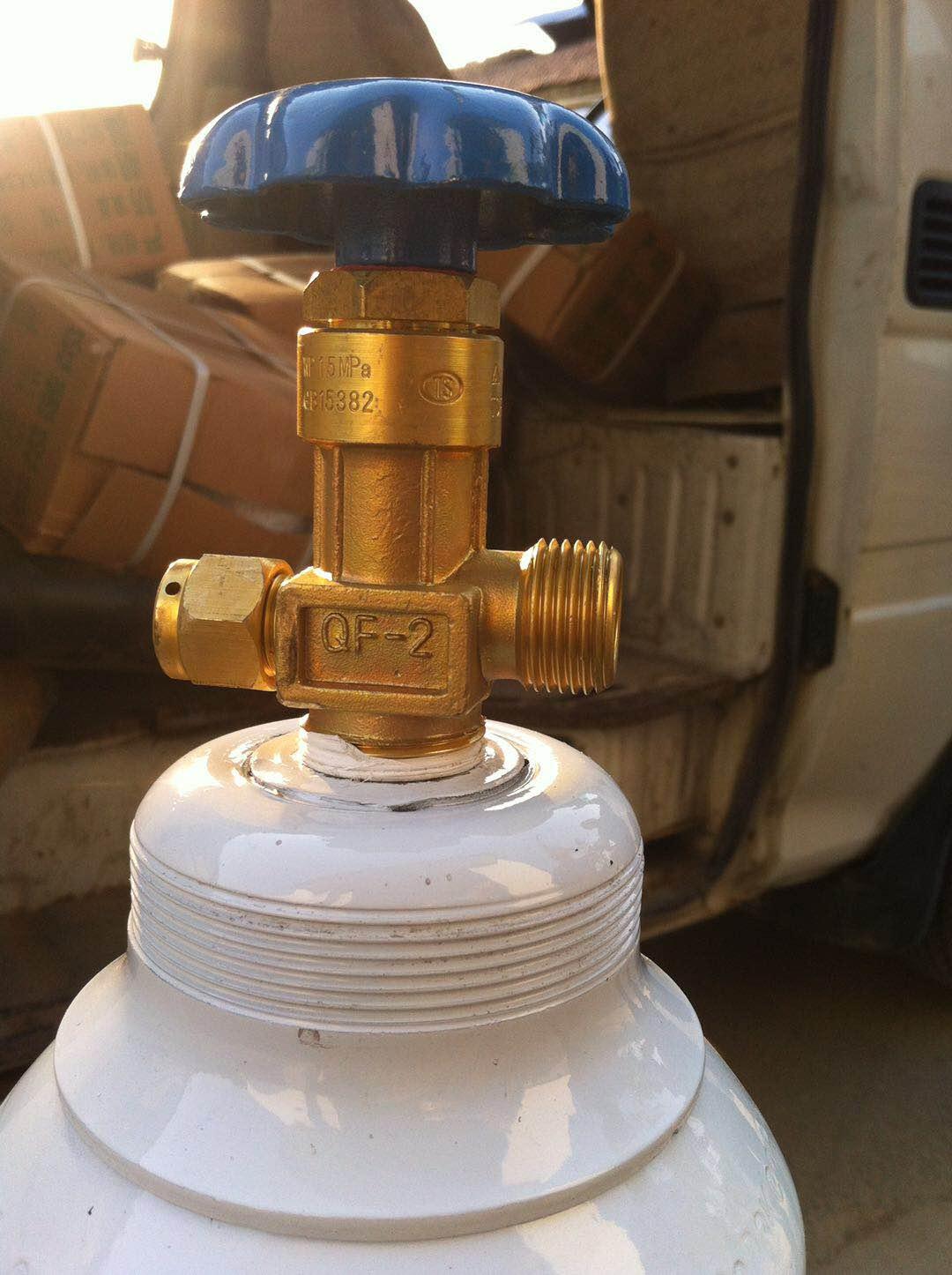 10L gas cylinder oxygen cylinder stainless steel high pressure gas cylinder