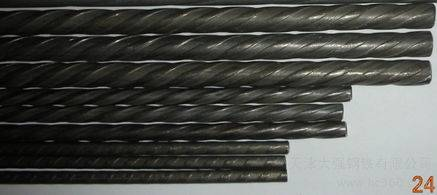 Indented PC Steel Wire