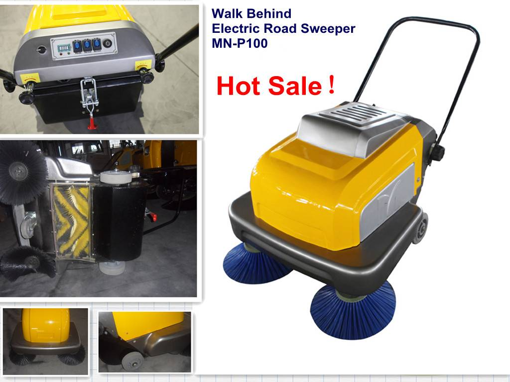 MN-P100A   Walk by Hand Sweeper
