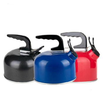 1.0L aluminum camping kettle aluminum whistle kettle