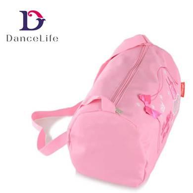 pink color dance bag