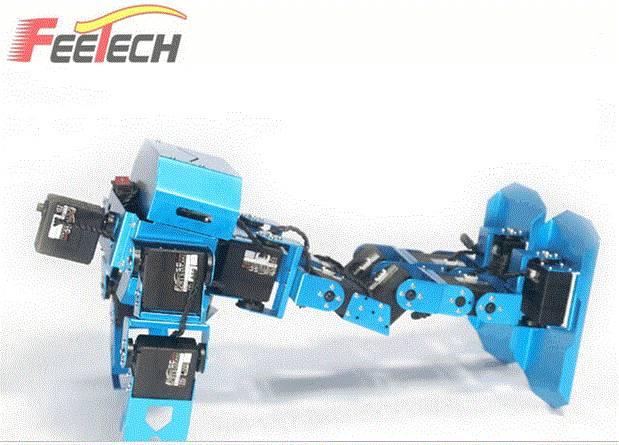 Feetech 17 DOF Raspberry Pi kit walking rc robot
