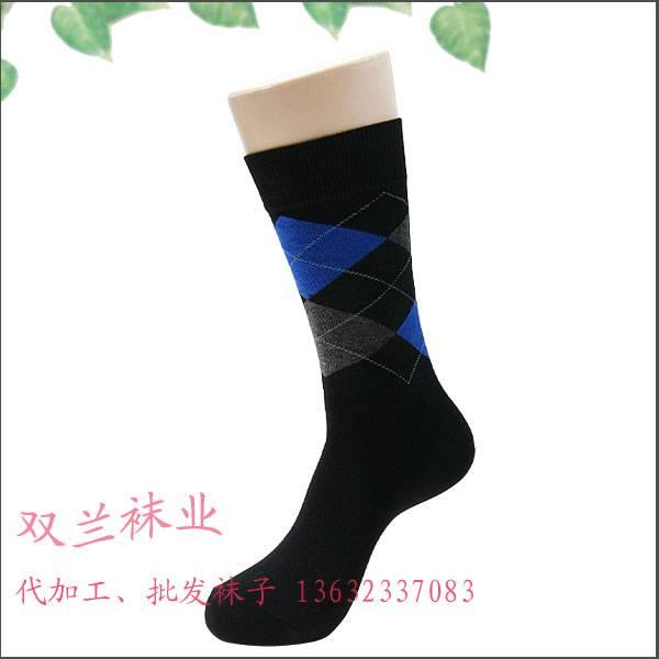 China Mens Patterned Casual Socks
