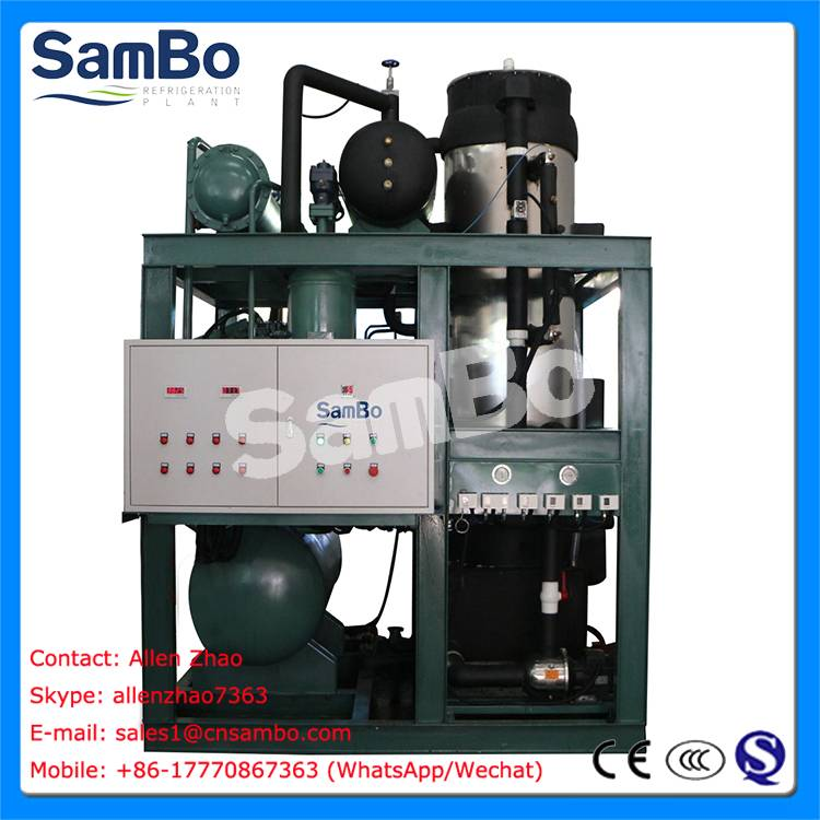 SamBo China Manufacturer 25tons Big Ice Tube Maker With CE Certificates