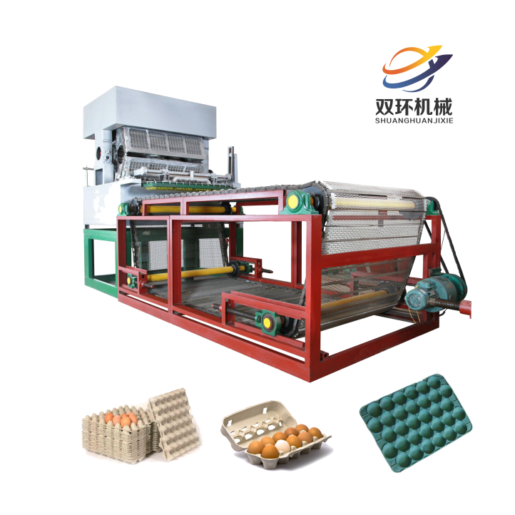 Best Quality Egg Tray Machine for 30 Cell Egg Trays
