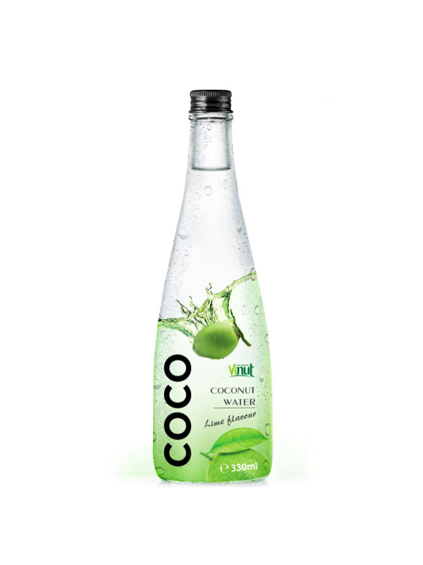330ml Export Pure Coconut water Lime flavour