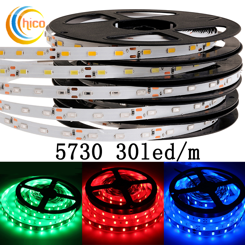 Project lights led strip lights SMD 5730 30 Leds/m 12v led strip lights waterproof