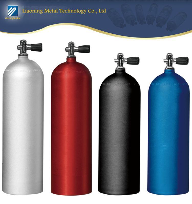 11L LWH184-11-20 Aluminum Scuba tank Diving gas cylinder