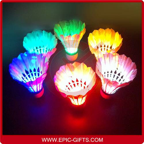 LED shuttlecock,LED badminton,lighting badmintons