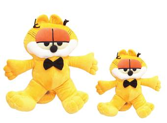 Stuffed Yellow Garfield Plush Toy