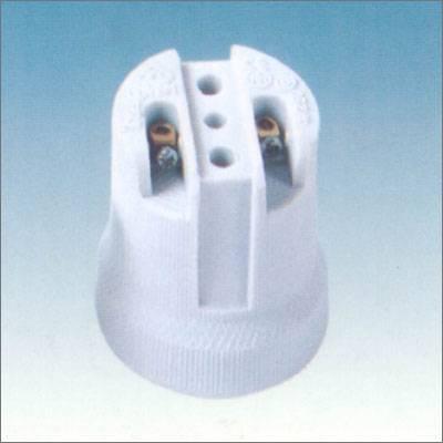E27 porcelain lamp holder in CE certificate