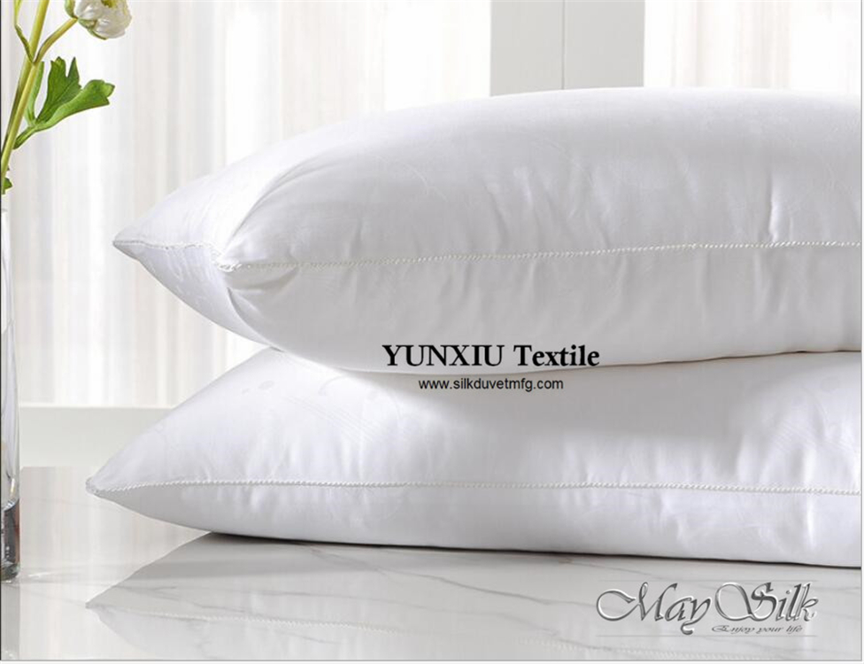 silk pillow silk cover with mulberry silk filled high quality very comfoter