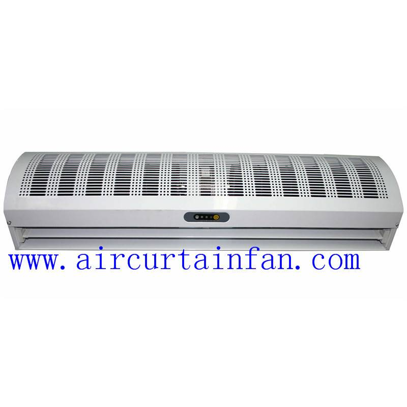 high speed cross-flow air curtain for commercial and industrial use with remote control