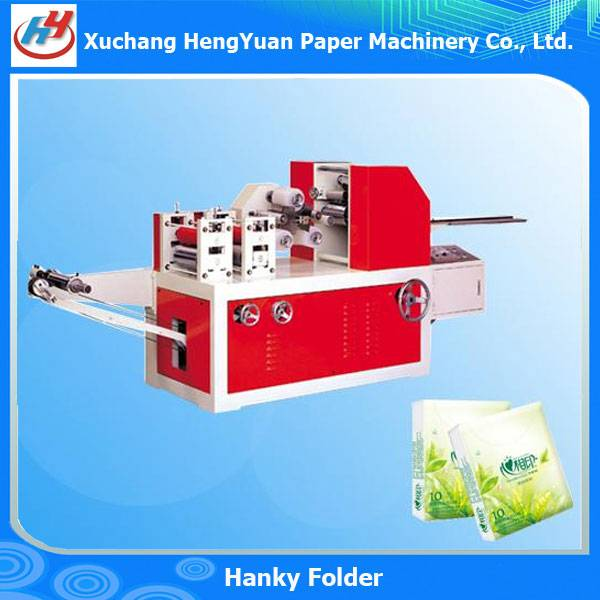 Printing Embossing Handkerchief Napkin Folding Machine