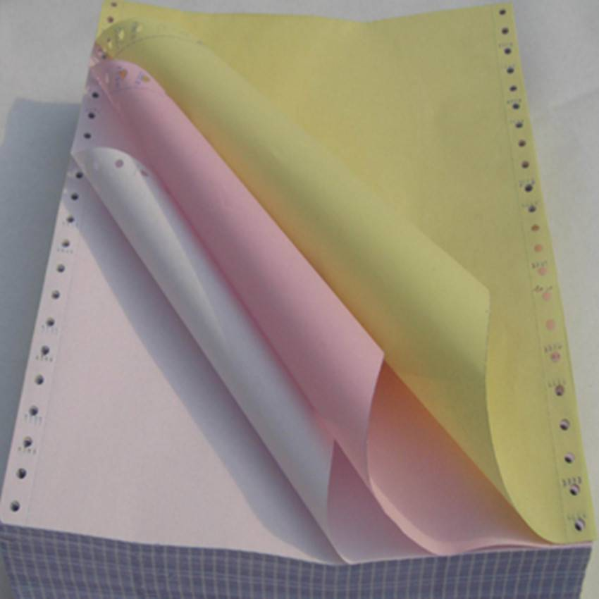 2016 3-ply continuous carbonless printing paper,computer paper