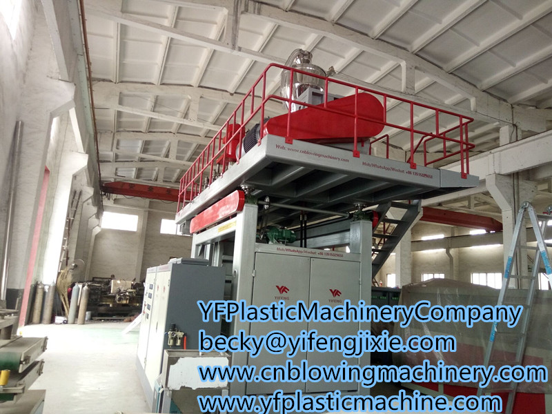 3 layers water tank blowing machinery