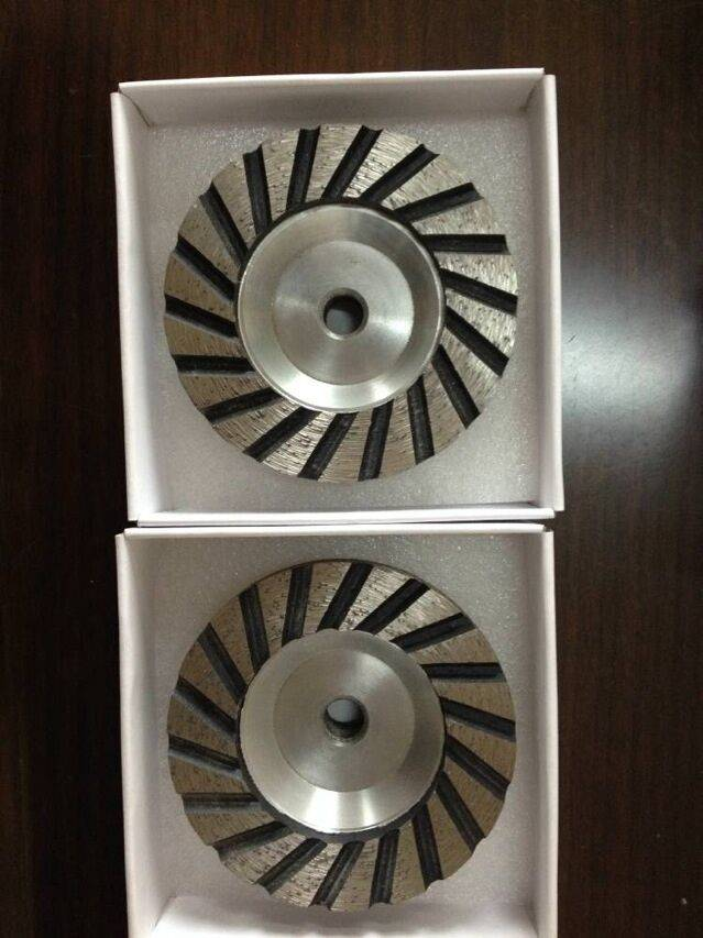 Diamond Cup Wheel for Grinding with Aluminum