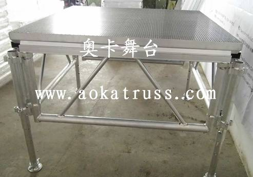 Mobile stage/Moving stage/Aluminum stage/Combine stage/Plywood stage/Adjustable stage/Stage