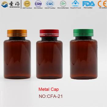 175ml Factory Direct Sale Plastic Bottle for Capsules