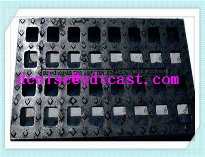china supplier cast iron gully grating road drain