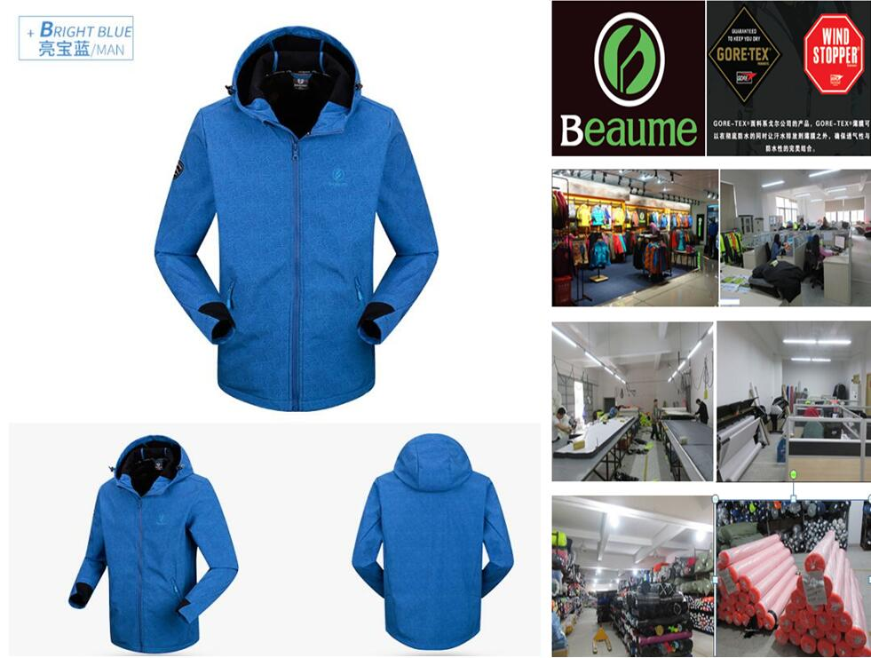 Men's Windproof Softshell Jacket