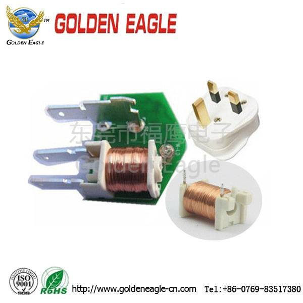 inductor coil in  power supply