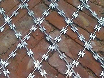 Welded Razor Fencing