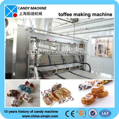 Full automatic toffee candy machinery