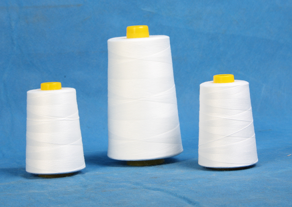 20S/3 spun polyester thread for single head quilting machine