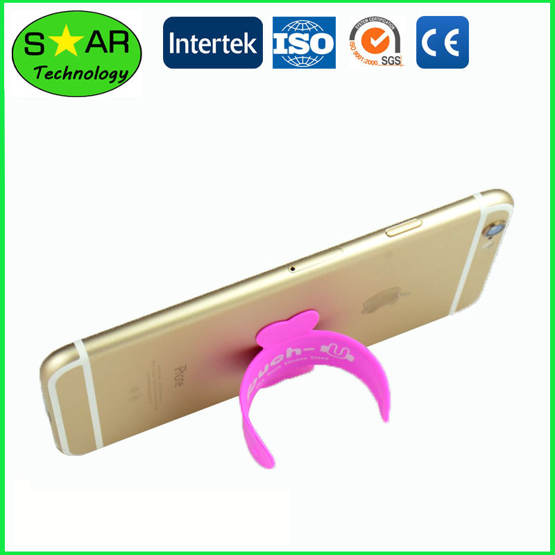 Silicone Mobile Phone Holder Adhesive Stand