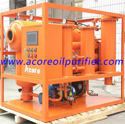 Oil Filtration Machine For Turbine Lube Oil