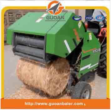 Dry grass/hay baler machine small round type