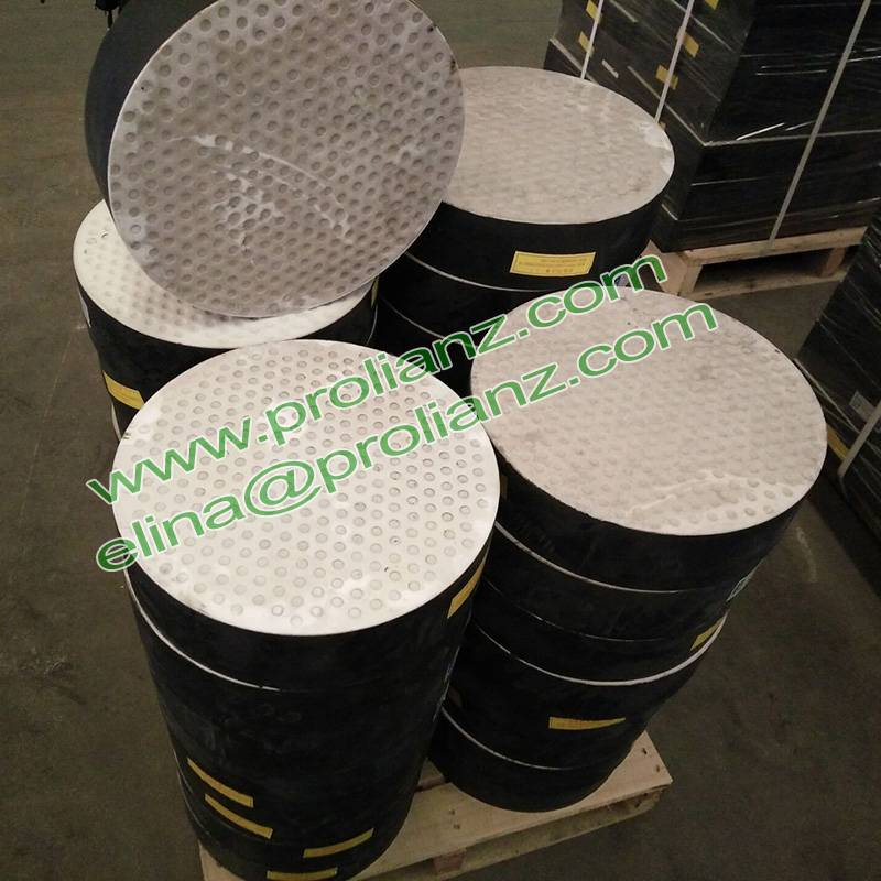 Professional Elstomeric Reinforced Bearing Pads for Bridge Project