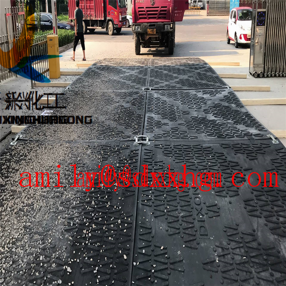 HDPE Plastic ground protection mats
