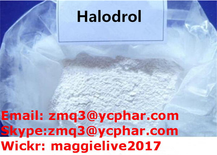 Prohormone Raw Steroid Halodrol for Muscle Mass CAS 2446-23-3