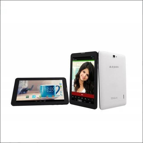 "Azpen A733 3G Broadband 7"" Quad Core Android 4.4 Tablet, LCD 1024 x 600 NAND FLASH 8 GB and Dual Cam"
