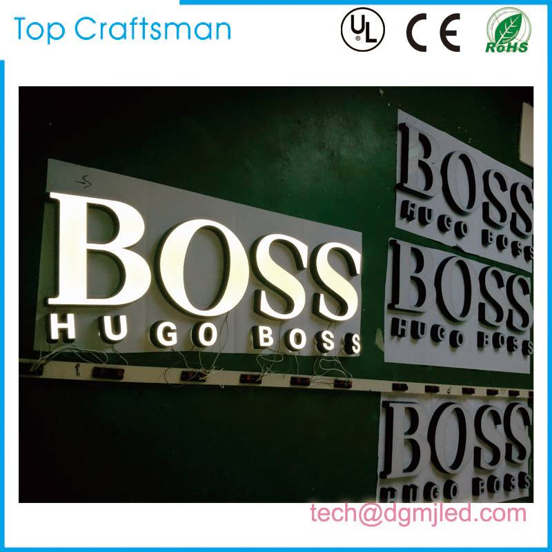 Laser cut Customized engraving acrylic letter sign