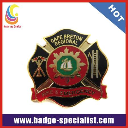 custom logo pin badge