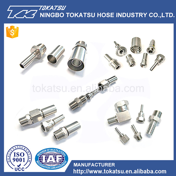 Oil Gas Water Industrial Best Quality Stainless Steel Fittings Hydraulic Hose Coupling