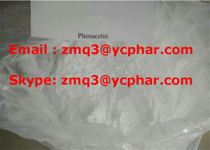 Phenacetin Anti Inflammatory CAS 62-44-2 cutting agent Pain-Relieving Drug