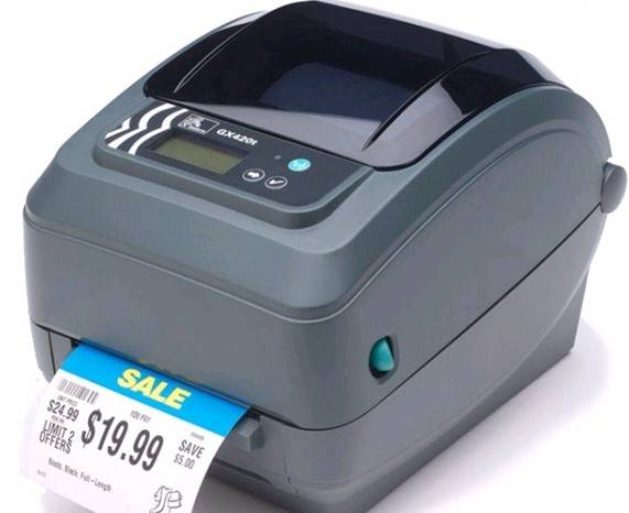 Zebra GX420t(203dpi) Barcode Printer thermal printer