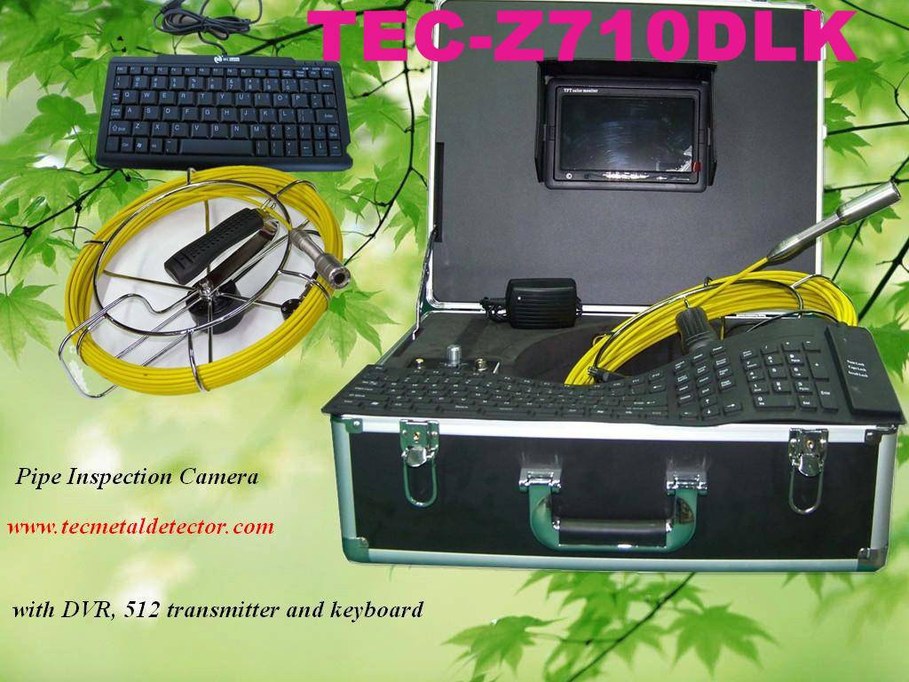 Sell Top One Drain Inspection Camera System TEC-Z710DLK with DVR&Keyboard