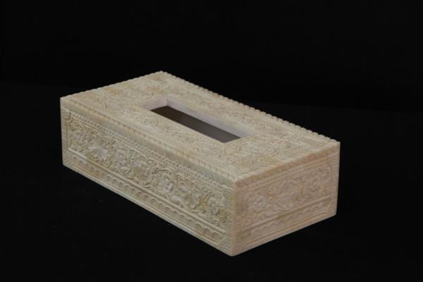 Bone Fine Crafted Tissue Box