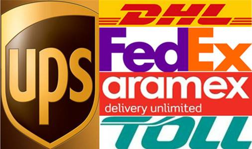 DHL/UPS//FEDEX courier service from China to America/Canada