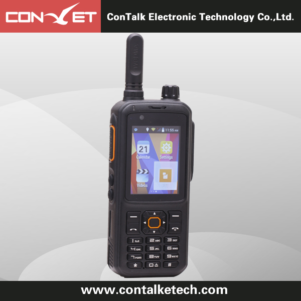 Contalketech Wcdman GSM WiFi Two Way Radio WCDMA Zello PTT android phone Walkie talkie CTET-6810