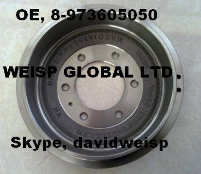 ISUZU BRAKE DRUM